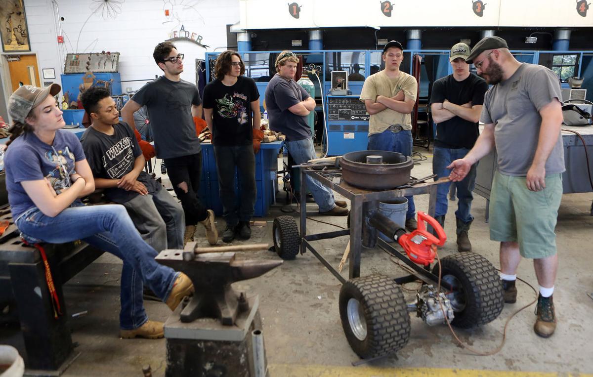 Blacksmith CMC Tech School