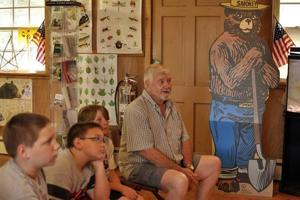 Smokey Bear has big birthday bash each year at Belleplain State Forest