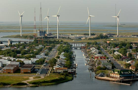 Tour the wind farm in Atlantic City