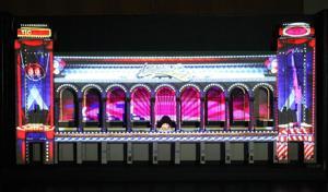 Boardwalk Hall 3-D light show