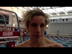 St. Augustine Prep swimmer Sam Newnam