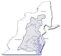 Map of the Chesapeake Bay Watershed - Chesapeake Bay Program