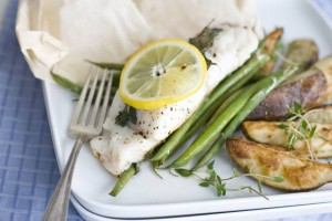 Pack on the flavor, not the fat, with steamed hake