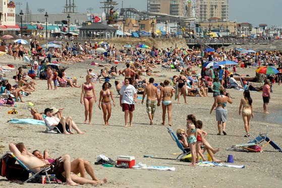 Moms Beaches Ocean City