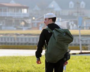 Absecon teen, who worked way to top  of Sea Cadets Corps, chooses West Point