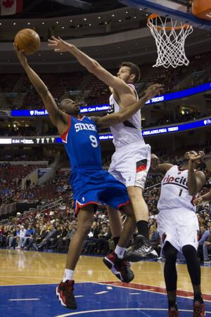 76ers routed by Portland