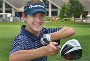 A: St. Augustine Prep Cody Dazen, the 2012 Press Player of the Year, is eager to begin the scholastic golf season next week. Dazen spent two months in Florida working on his game over the winter.  - Staff photo by Ben Fogletto, June 11, 2012