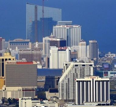 Atlantic City skyline day