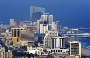 Atlantic City skyline day