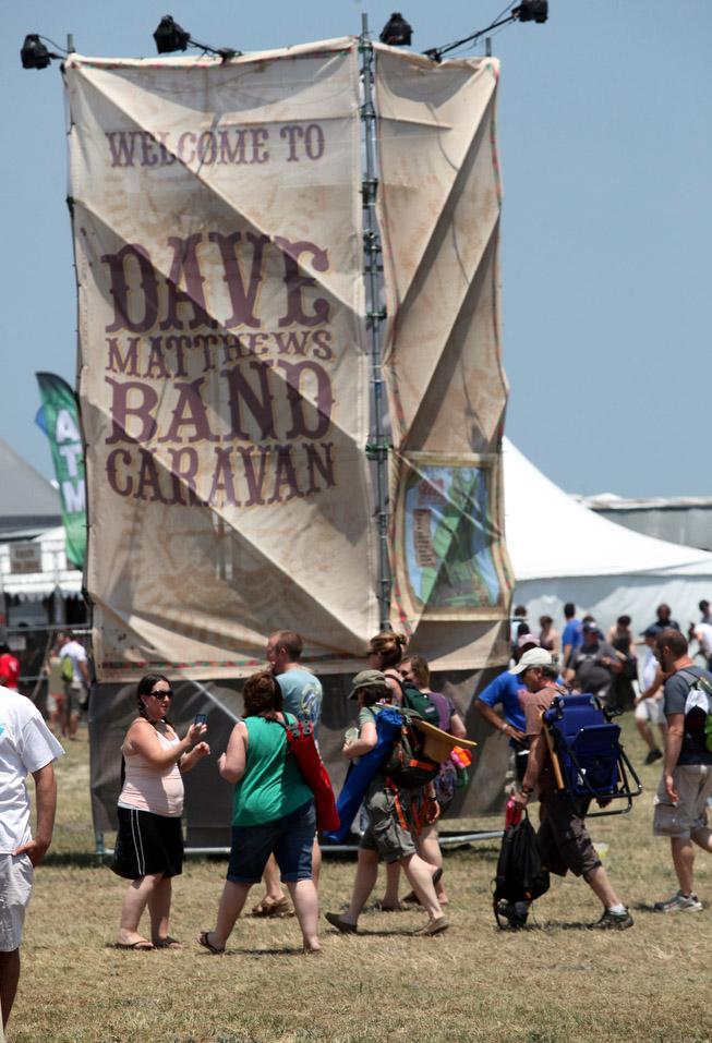 Dave Natthews Caravan Day 2