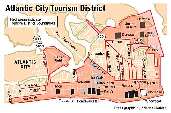 AC tourism map