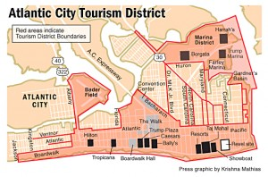 AC tourism map