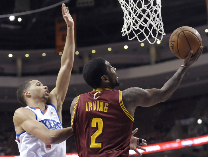 76ers fall to Cleveland