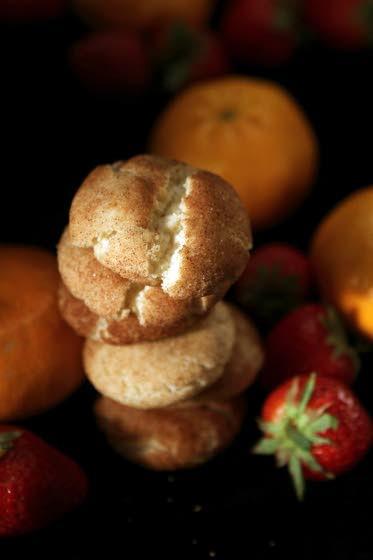 Fancy cookies pair well with fresh fruit for summer
