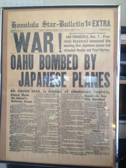 Antiques & Collectibles: World War II newspaper may have some value