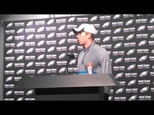 Nick Foles postgame interview after Carolina preseason game