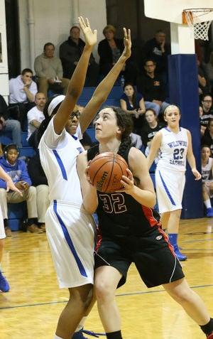 WC Girls Bask: Monday February 24 2014 St. Joseph at Wildwood Catholic Girls Basketball. (The Press of Atlantic City / Ben Fogletto) - Ben Fogletto