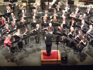 Wind ensemble performs in Linwood and other events to enjoy At The Shore Today