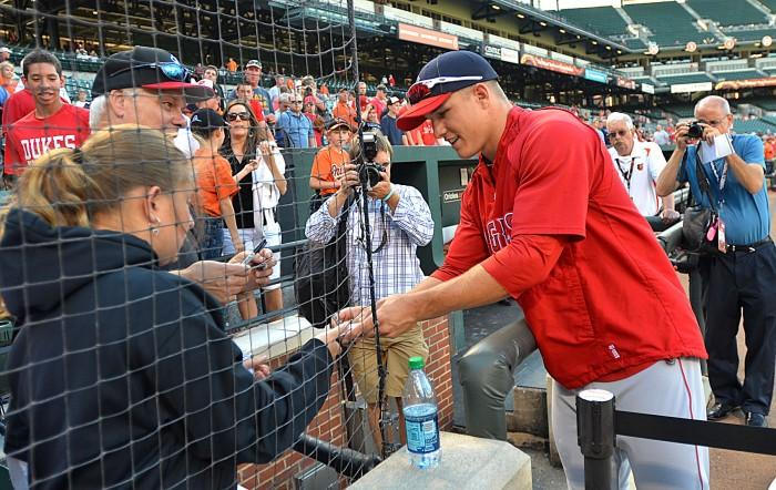 trout in baltimore