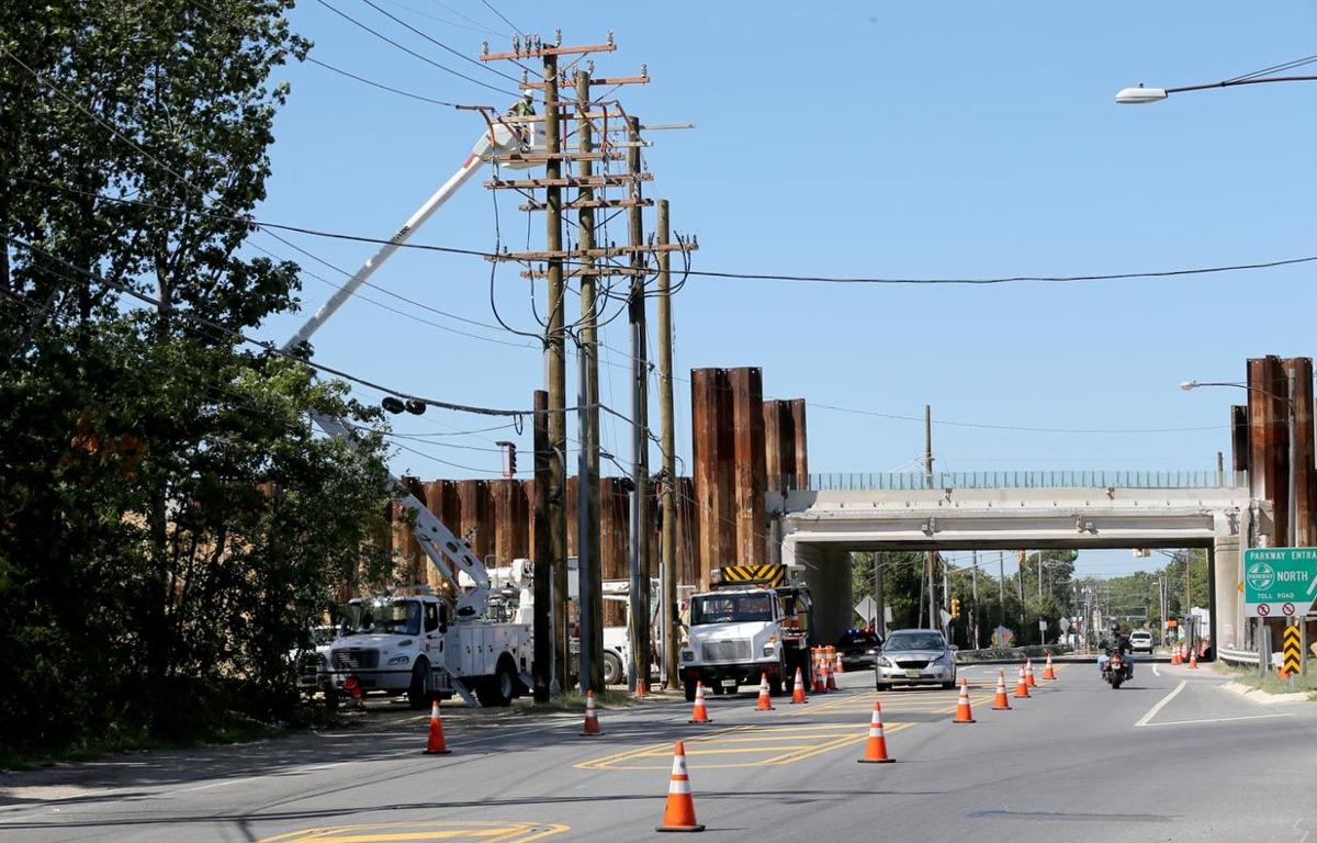 Washington Avenue Garden State Parkway Ramp Closes