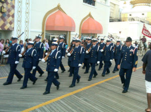 Armed Forces Parade: The Atlantic City Armed Forces Parade took place Monday night on the Boardwalk.