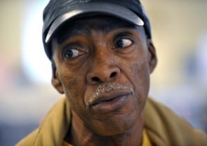 COUNTY VIOLENCE 1: Curtis Dillard, of Pleasantville, who worries about his 11-year-old son: 'When you are in the group, as a child, your only goal is to try to fit in. They are just kids. They are only 11 years old, and their brains only go out so far.'  - Photo by Michael Ein