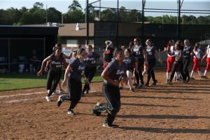 Egg Harbor Township softball playoff
