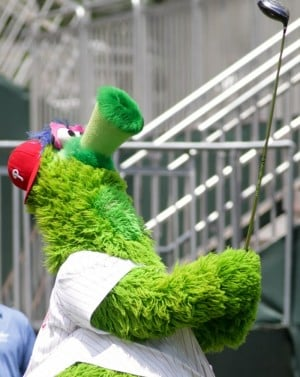 Phillie Phanatic