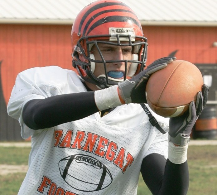 Barnegat football Mike DeTroia