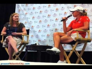 Interview with Stacy Lewis: Day 1 of ShopRite Classic