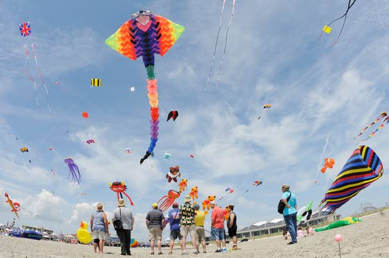 Kite festival in Wildwood highlights events At The Shore Today