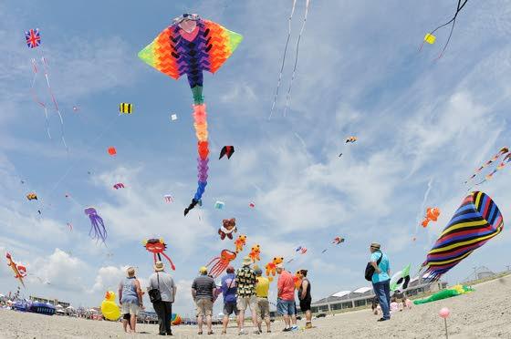 Kite festival in Wildwood