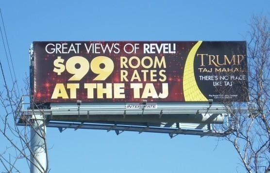 Taj billboard