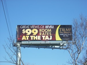 Taj billboard