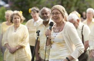 'Unfinished Song' Plays Cute Refrain: Vanessa Redgrave stars in 'Unfinished Song.'