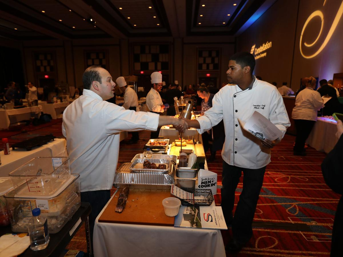 ACBGC event Men R' Cookin' heats up Harrah's