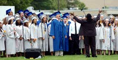 Confidence boosts Oakcrest grads