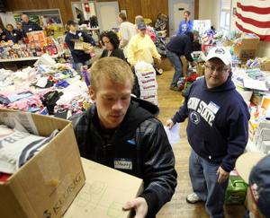 Firehouse donations