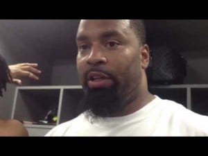 Cullen Jenkins talks about the Eagles' 23-21 win over the Buccaneers, Dec. 9, 2012