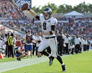 Rookie QB earns points for his poise