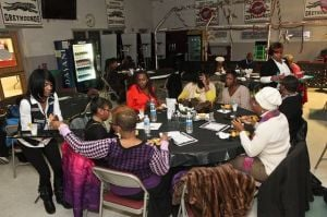 Pleasantville PTO's bingo night gets taste of spoken word poetry