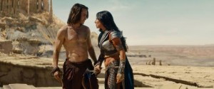 Rise and Fall of John CarterTaylor Kitsch's character gets lost in a Martian war