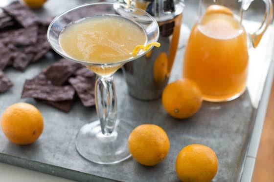 Lemony pitcher-style margarita works for many occasions