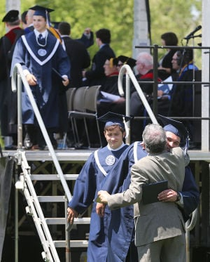 ST. AUGUSTINE GRADUATION: Sunday May 18 2014 St. Augustine Prep Graduation. (The Press of Atlantic City / Ben Fogletto) - Ben Fogletto