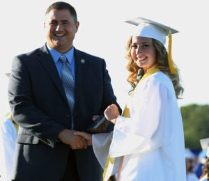 Hammonton High School Graduation: Hammonton High School graduation, Friday June 20, 2014, in Hammonton. - Michael Ein