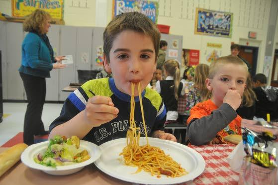 Late drive helps Shaner school surpass Pasta for Pennies goal