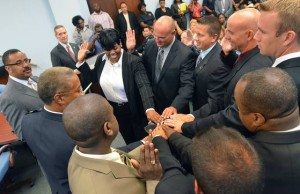 Atlantic City Police Department promotes 8 officers to sergeant