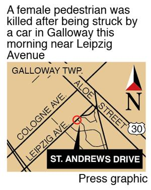 Location of accident Galloway