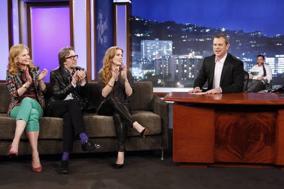 Matt Damon 'hijacks' Jimmy Kimmel's ABC show