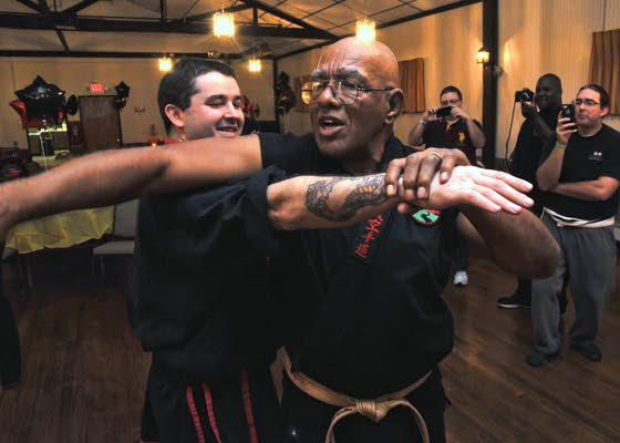 Three grandmasters show, teach their martial arts chops in EHC